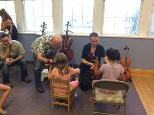 "Instrument ""Petting Zoo"" And Open House"