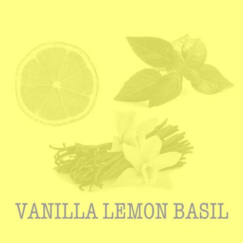 Vanilla Lemon Basil